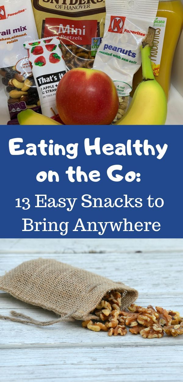 Healthy Food on the Go: 13 Easy Snacks to Bring Anywhere images