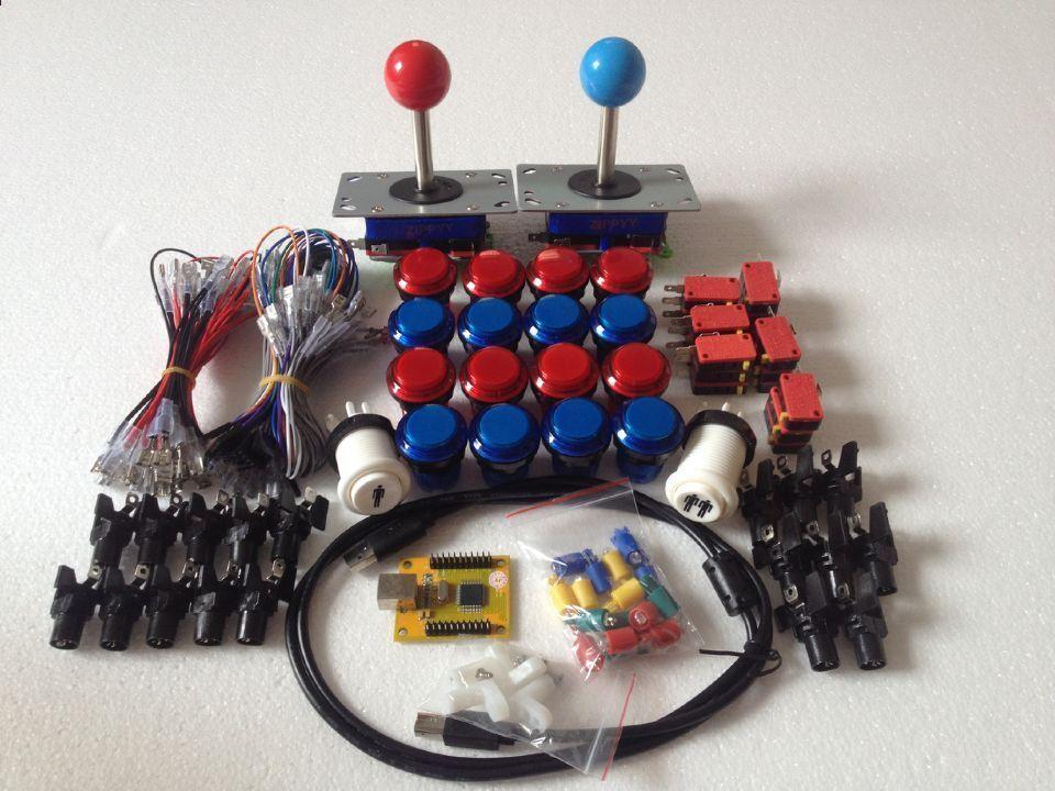 microswitch MAME Jamma Arcade Game Player 2 button illumiated arcade games