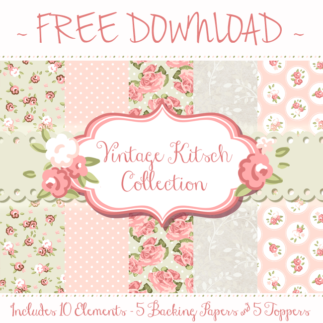 FREE artwork pack from the Tattered Lace Blog! Go to http://blog.tatteredlace.co.uk/ to download! 5 backing papers & 5 co-coordinating toppers