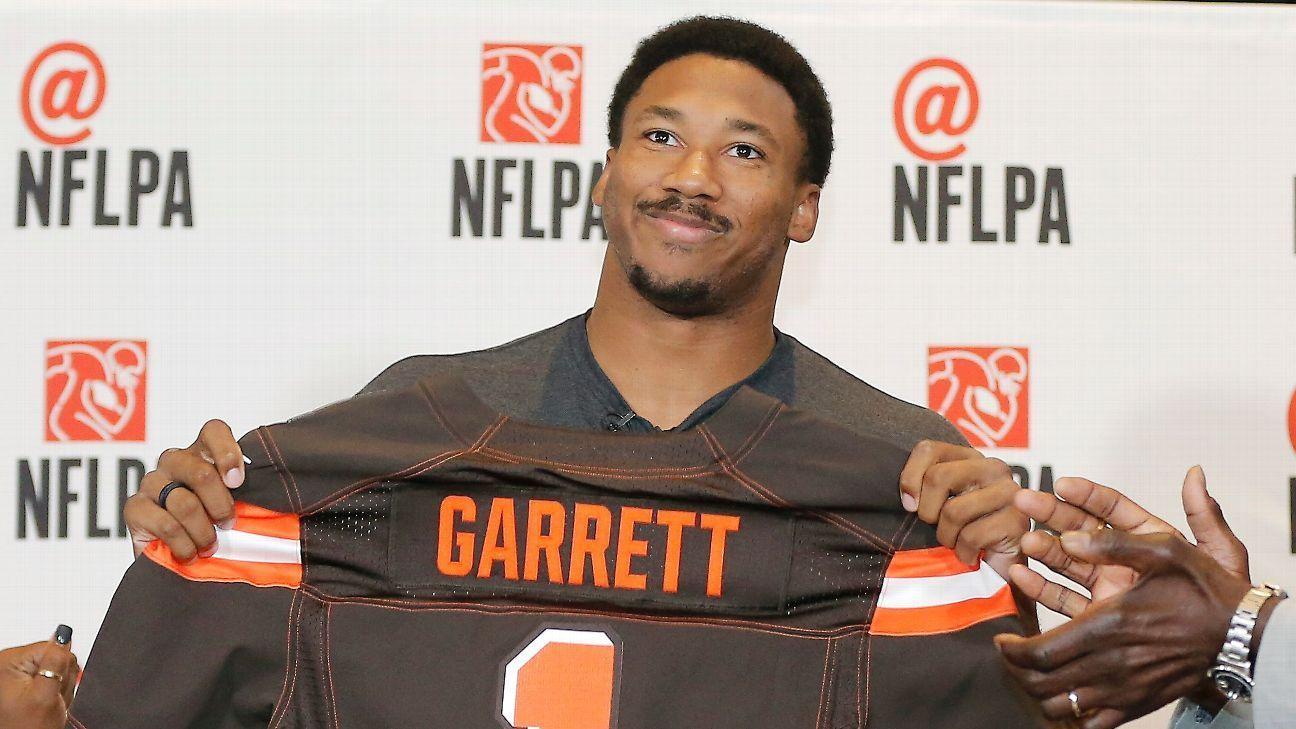 Garrett, Peppers among Browns' 3 1strounders Myles