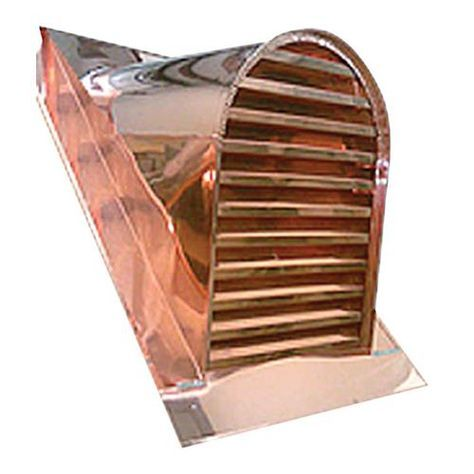 Tombstone Copper Roof Vent Available Online At Barn Pros Copper Roof Roof Vents Barn House Kits