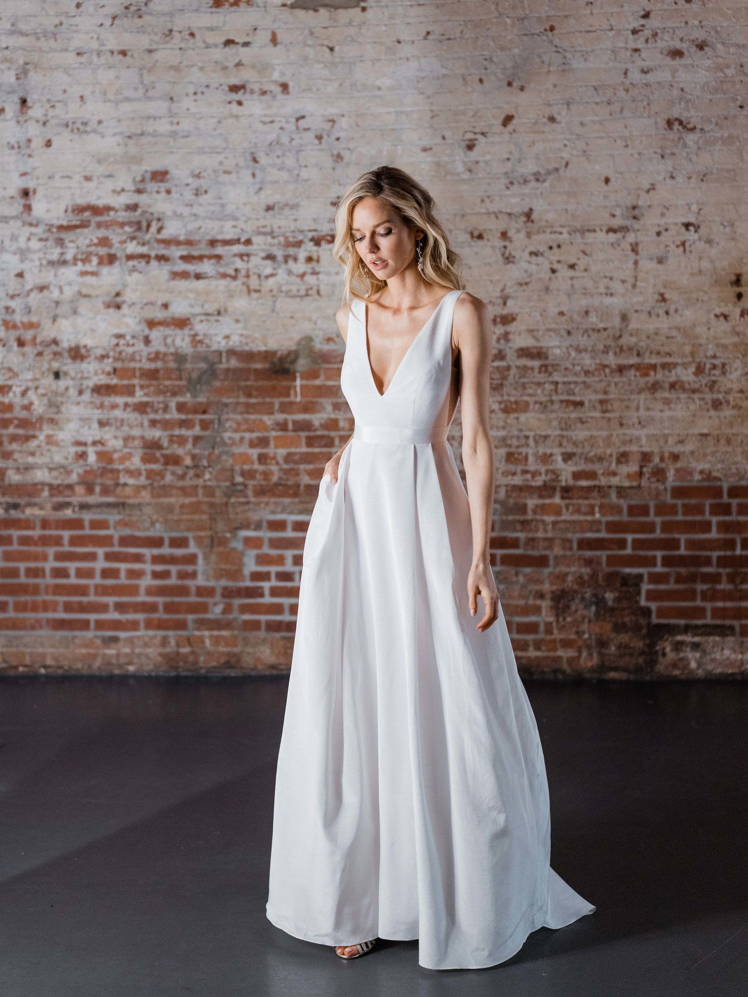 Second marriage wedding dresses plus size  Erika Gown  the big day  Pinterest  Wedding dress Gowns and Wedding