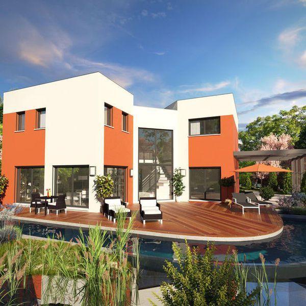 Modèle de maison Scenio -  Retrouvez tous les types de maison à - modele maison a construire