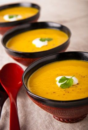 Roasted Pumpkin and Butternut Squash Soup