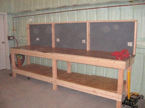 Bench 600 Garage Work Bench Garage Makeover Garage Storage