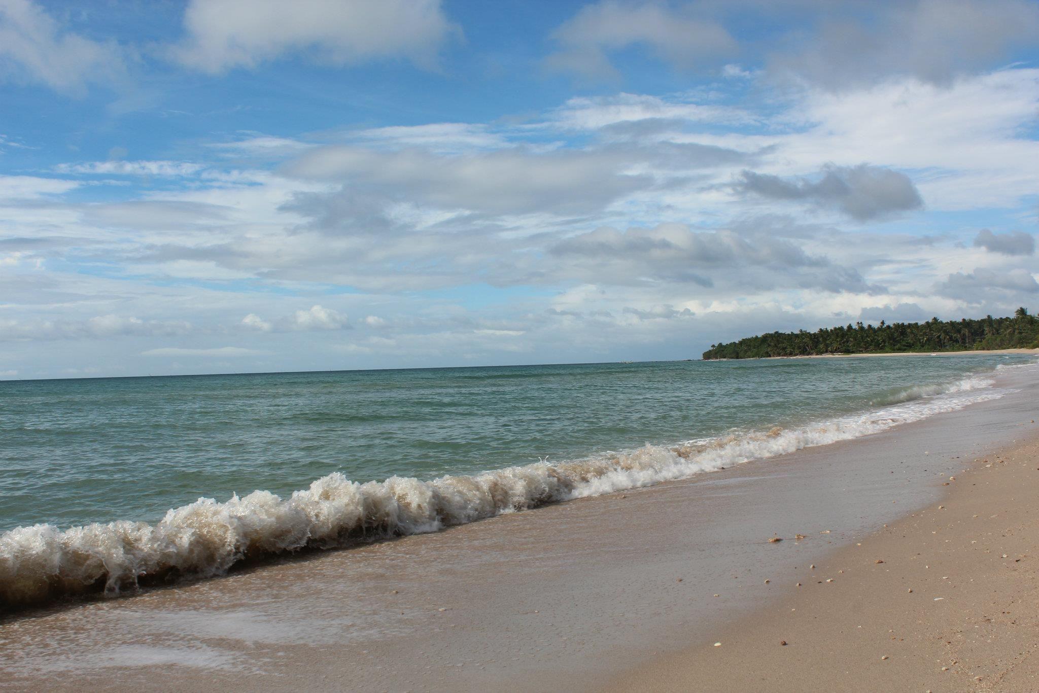 White sand beaches in Batangas Philippines