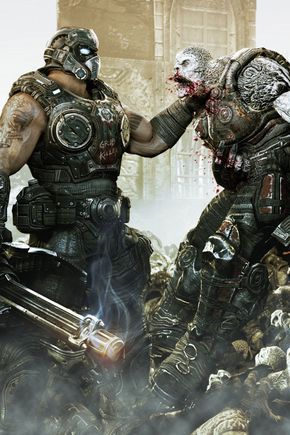 Gears Of War 3 Hd Wallpapers For Iphone 4 Con Imagenes Gears Of War Engranajes Gears Of War 3