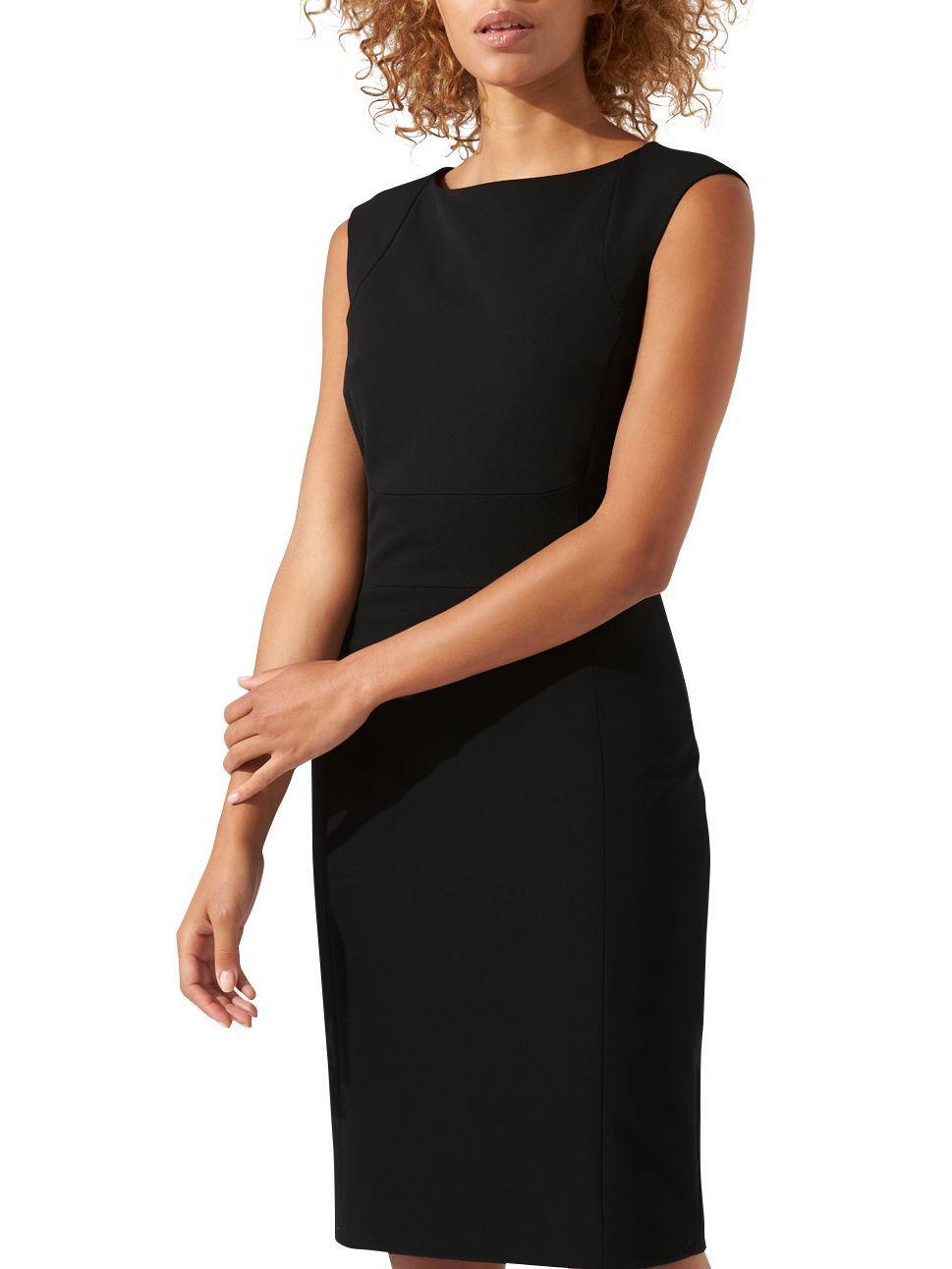 Jigsaw Paris Fit Sleeveless Dress, Black #blacksleevelessdress
