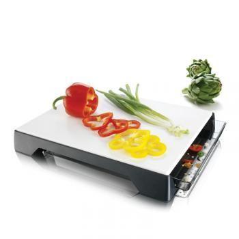 Deska Do Krojenia Z Szuflada Knife Set Kitchen Tray Vacu Vin