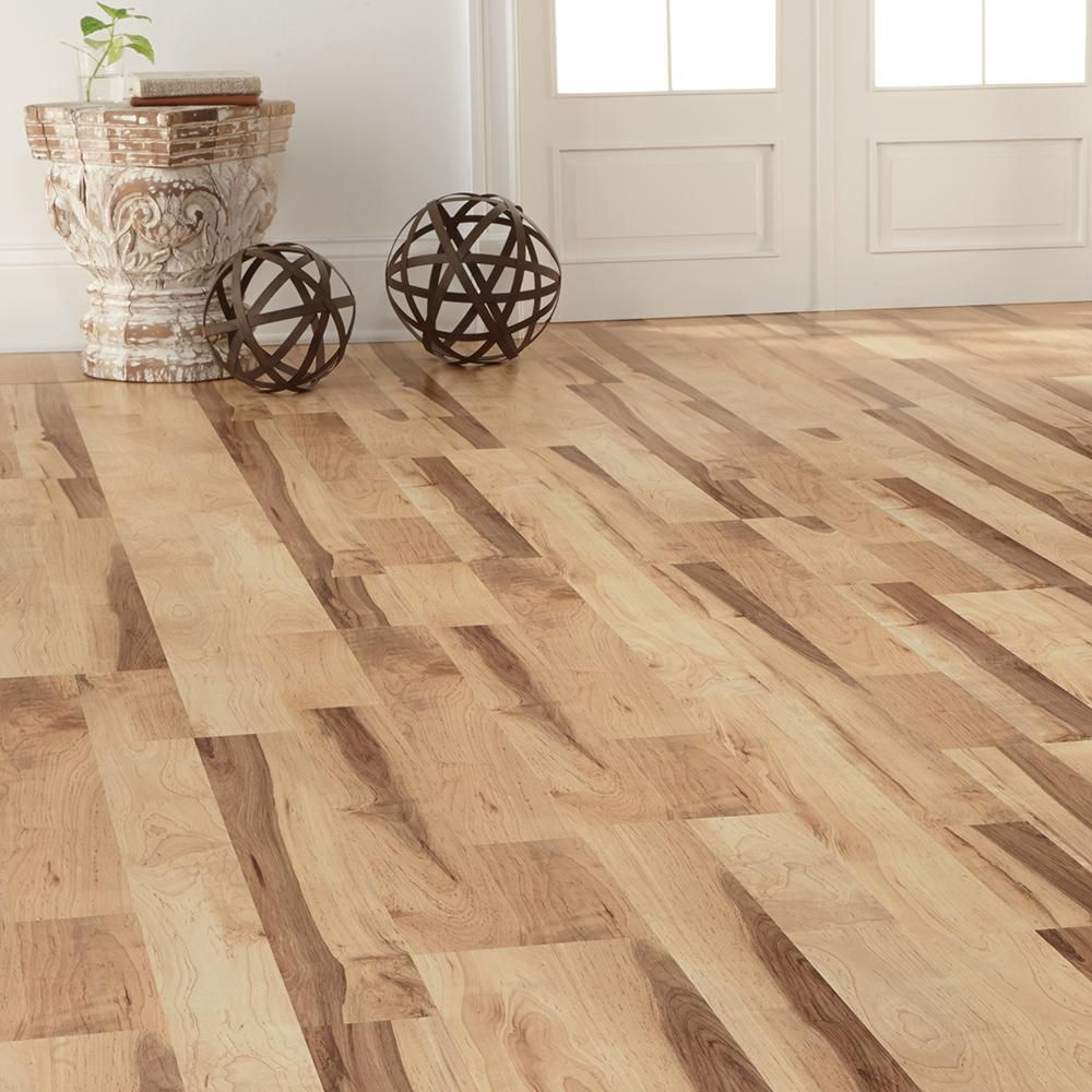 Home Decorators Collection Colburn Maple 12 Mm Thick X 7 7/8 In. Wide X  47 17/32 In. Length Laminate Flooring (15.59 Sq. Ft. / Case) 368441 00314    The Home ...