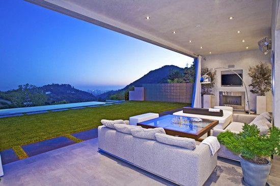 indoor outdoor rooms design project highridge drive la awwww