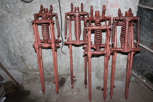 how to build girder forks