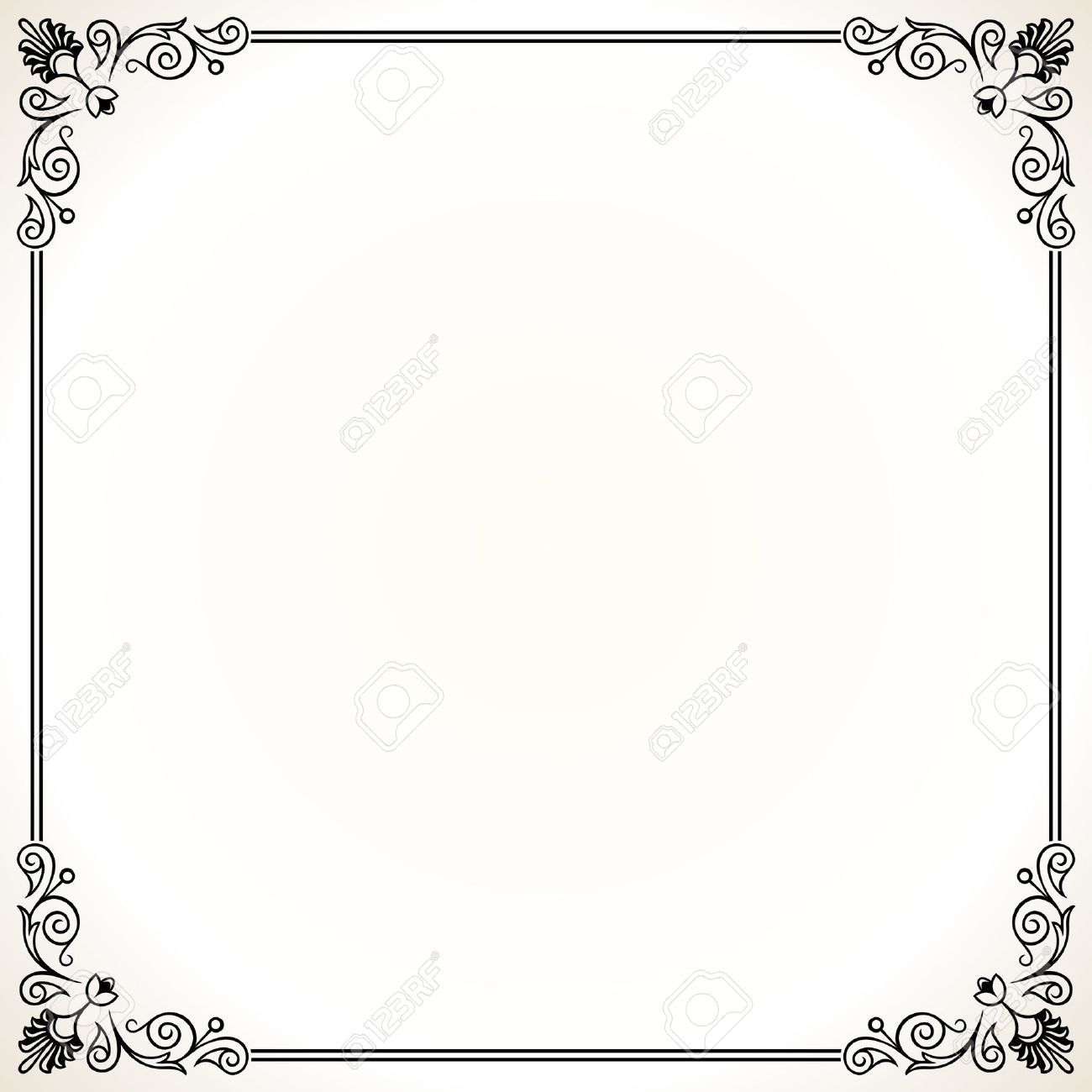 Home Office:Ornate Border Stock Illustrations, Cliparts And Royalty Free  Pertaining To Word Document Frames Borders Regarding Comfy Word Document  Frames ...  Certificate Border Word