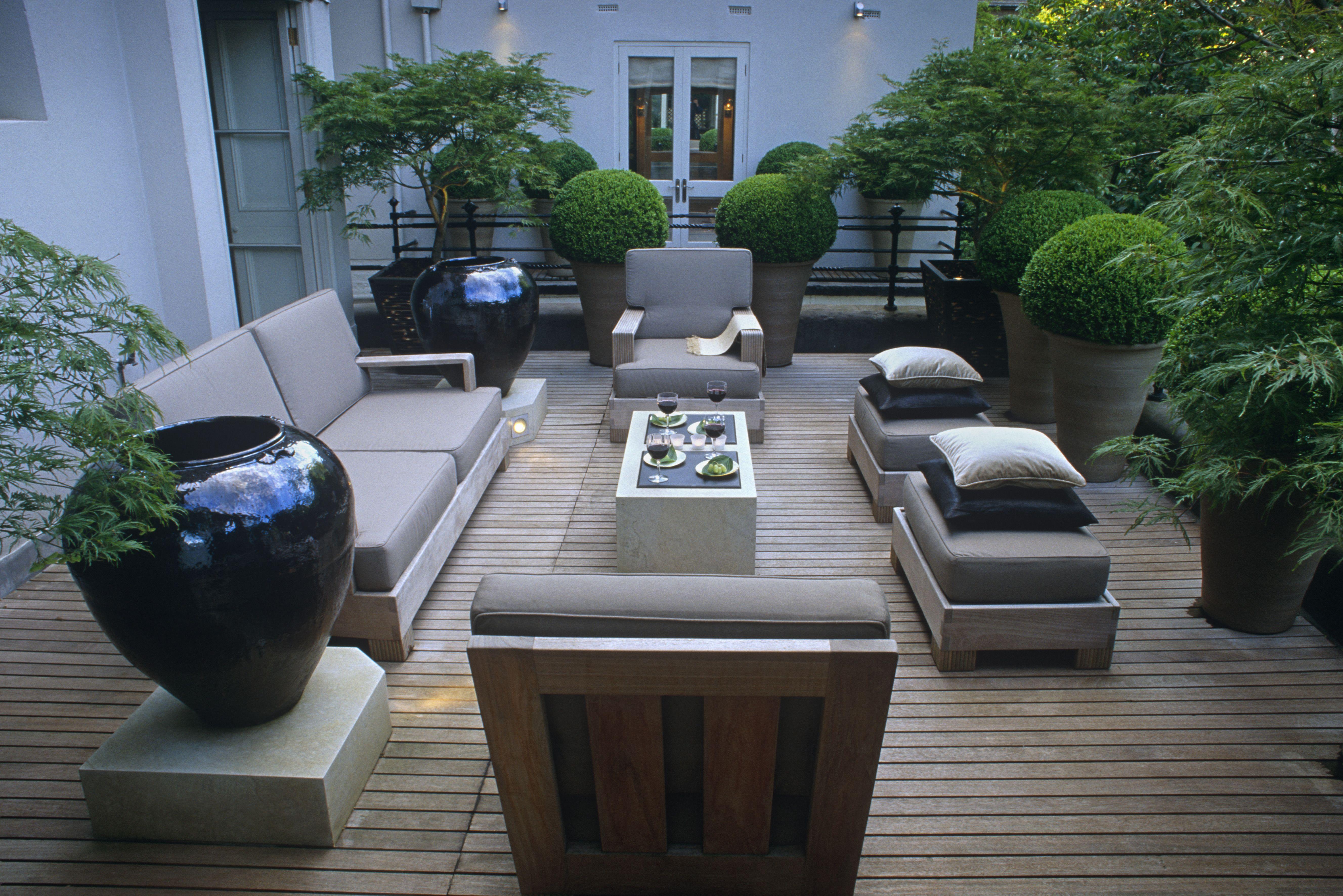stilvolle Terrassengestaltung von Living Garden | Out Door Living ...