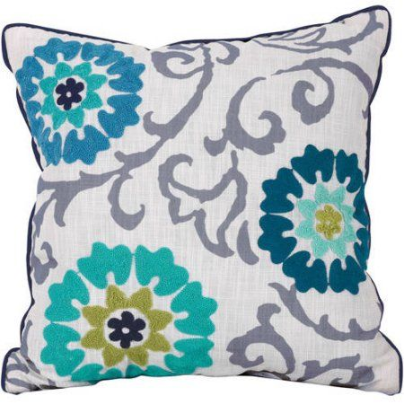 Better Homes And Gardens Floral Medallion Decorative Throw Pillow Stunning Better Homes And Gardens Decorative Pillows