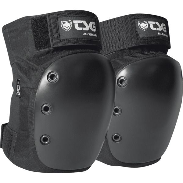 New Tsg All Terrain Black Medium Knee Pads Now In Stock Skates For Sale Knee Pads Skate Store