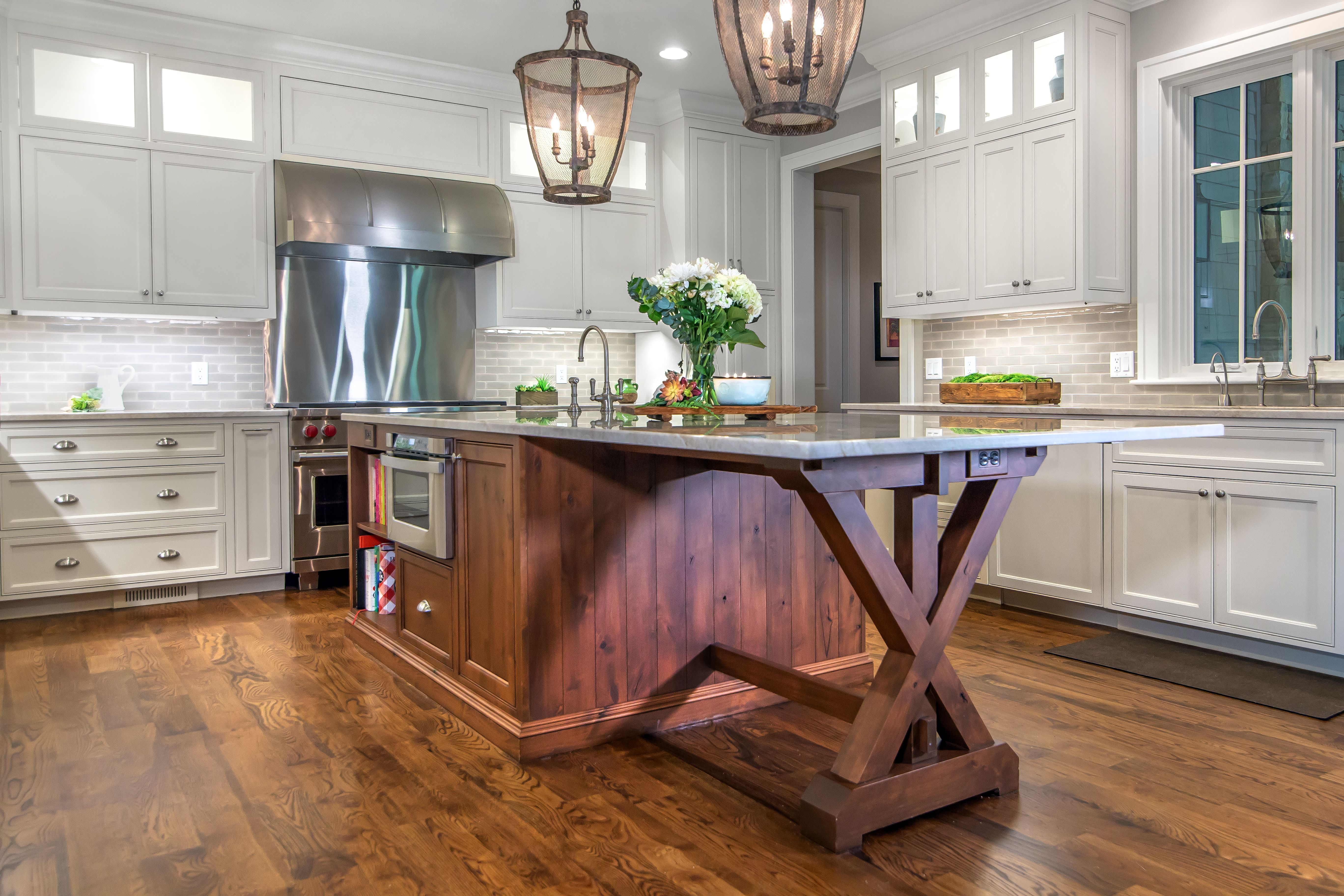Kitchens Are The Most Heavily Used Rooms In The Home The Circulation And Flow Of The Space Needs To Be Carefull Kitchen Design Dream Bathrooms Custom Cabinets