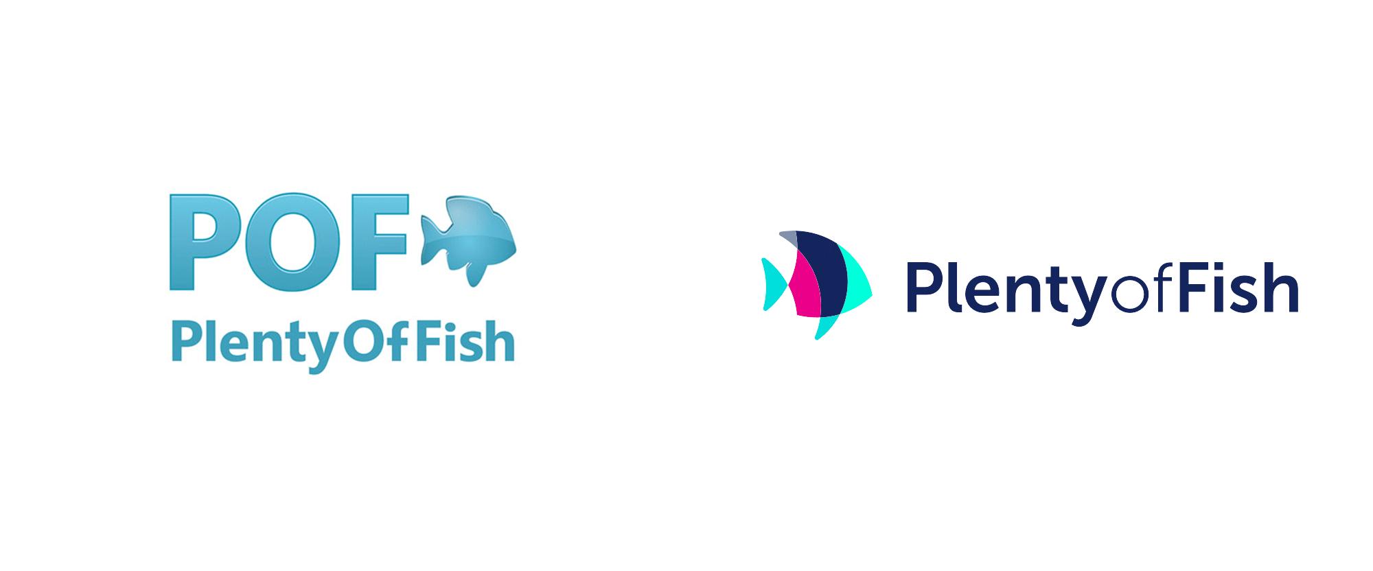 New Logo for Plenty of Fish, Graphic Design Visual Design