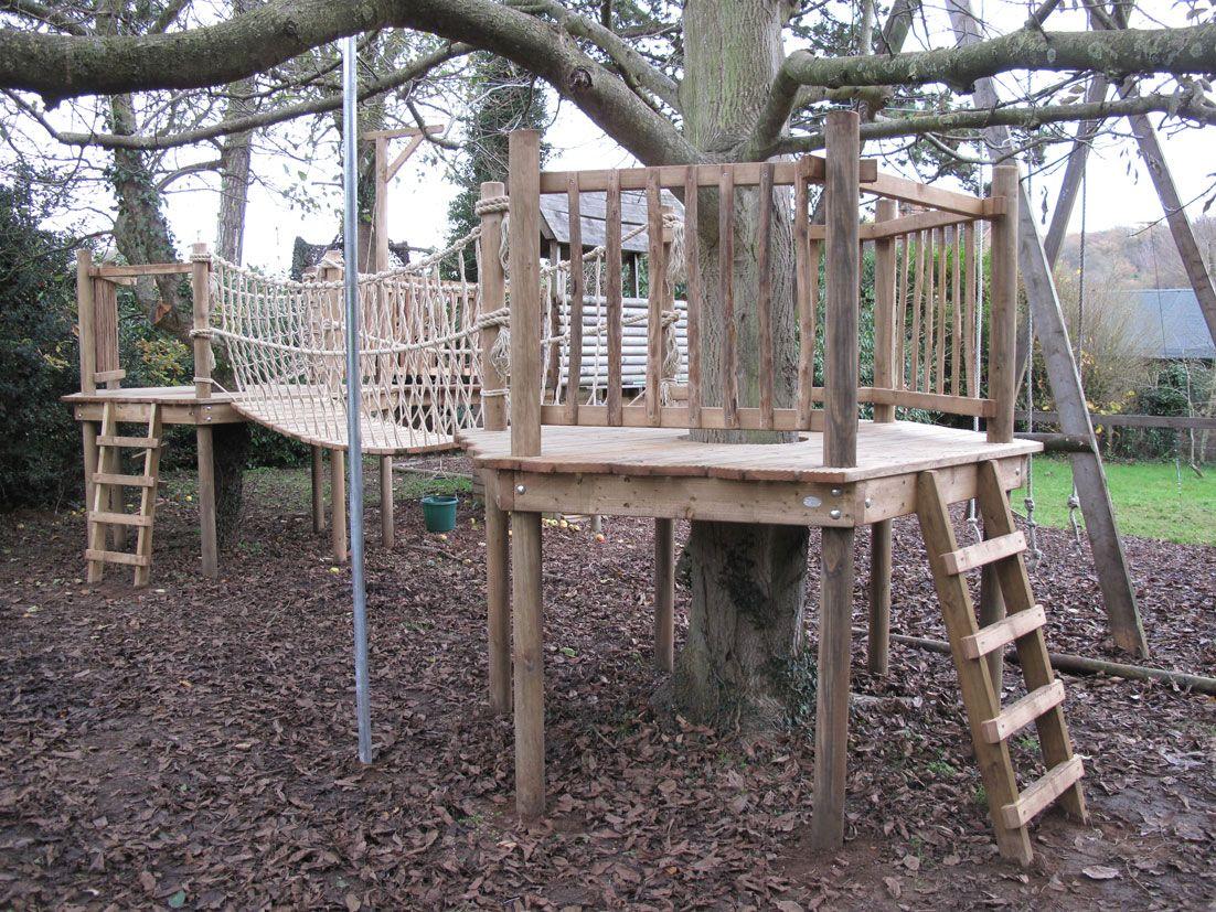 tree house bridges | Tree House Walkways and Bridges ... on