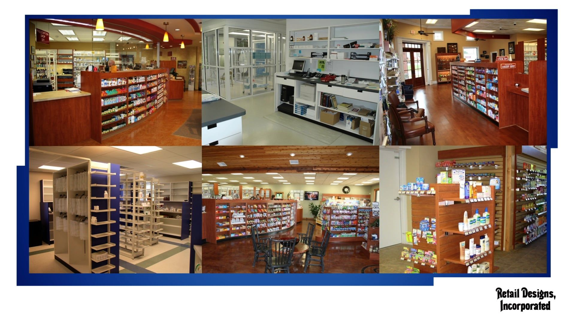 Retail Designs, Inc. Modular Pharmacy Systems 2017