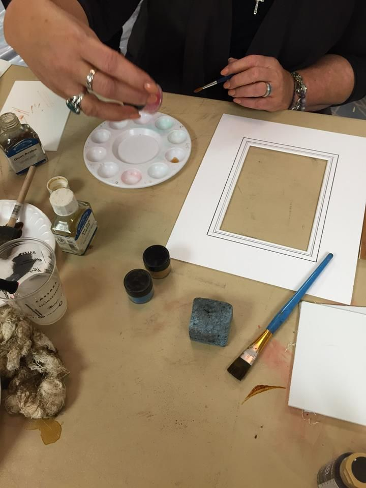 Linda Wassell Mat Accents Class At Wcaf Convention Las Vegas 2015