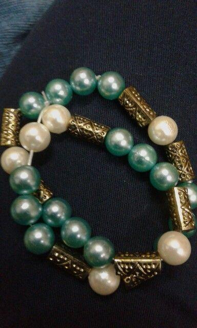 A bead bracelet