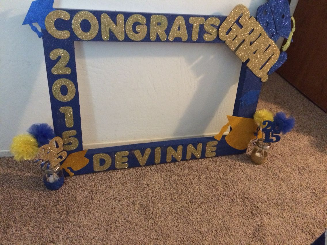 Graduation photo frame | DIY by ME | Pinterest | Graduation photos ...