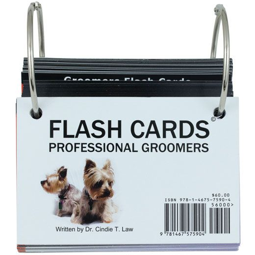 Flash Cards Revival Animal Health Dog Grooming Tips Pet Health Dog Grooming
