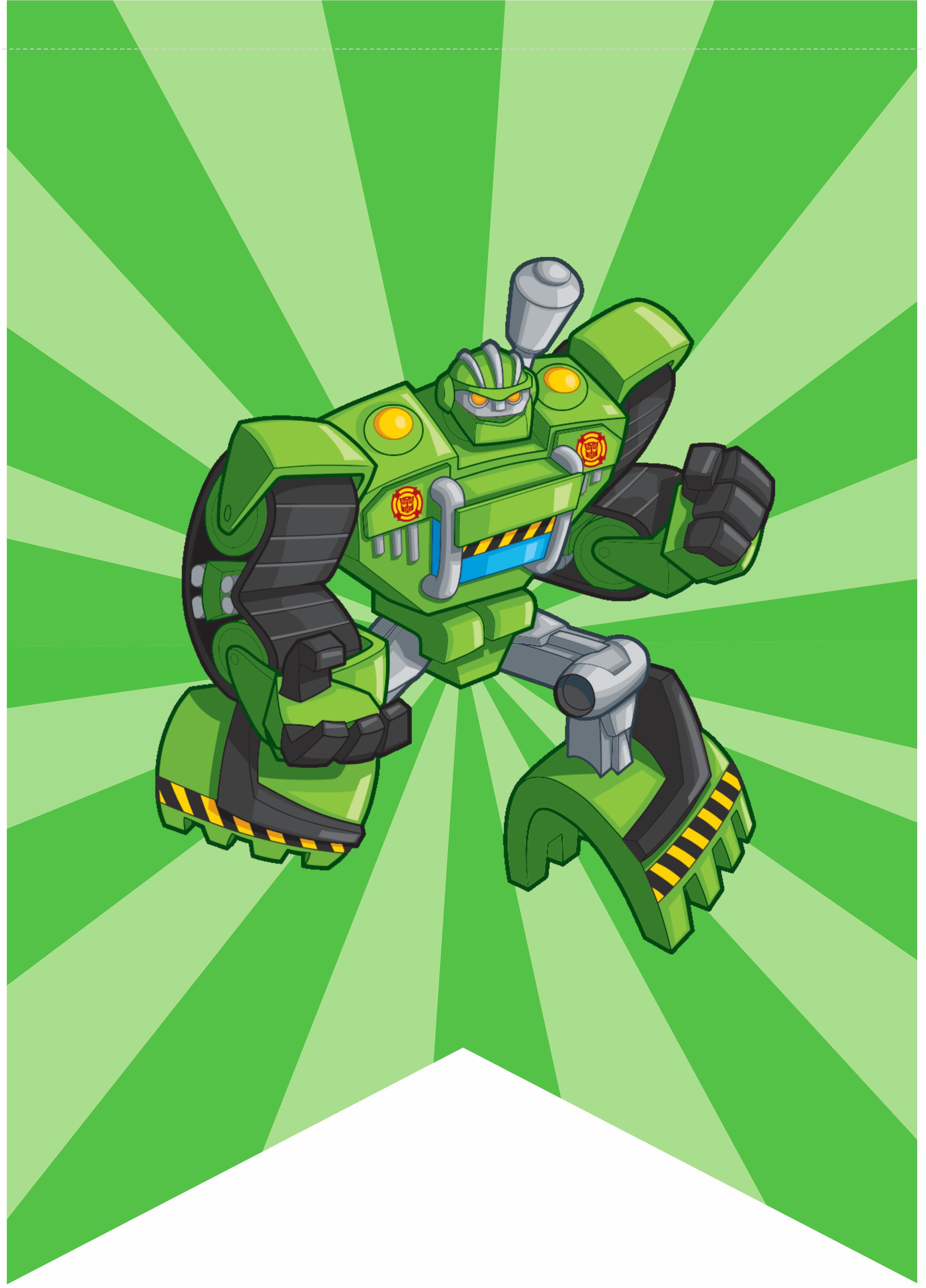 Bandeira Rescue Bots Boulder Transformers Rescue Bots Rescue Bots Rescue Bots Cake