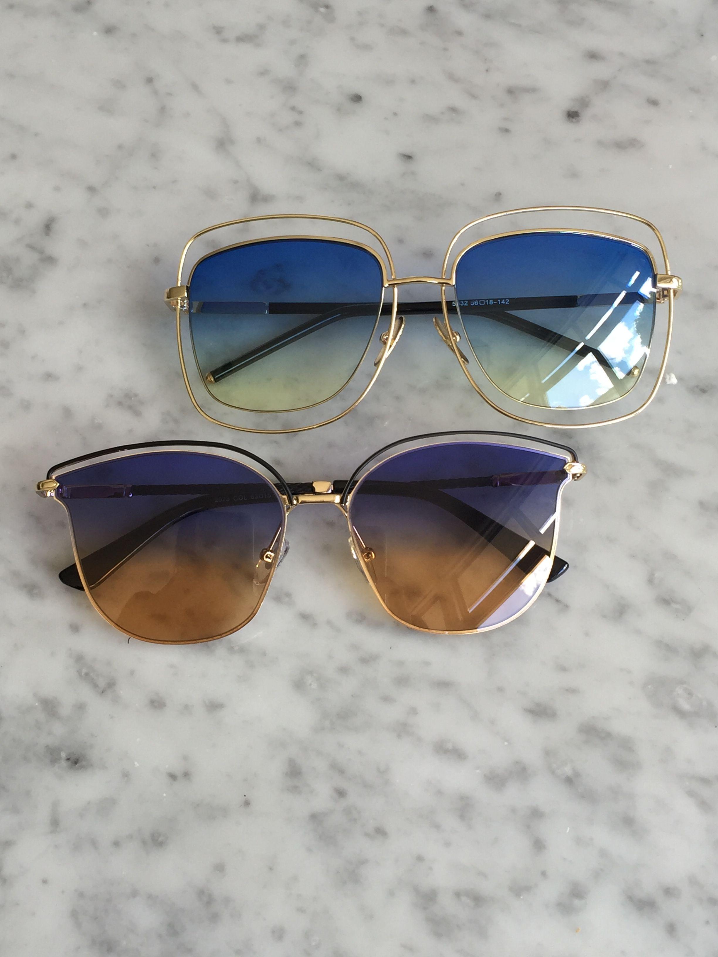 ... Óculos De Sol e muito mais! Sunglasses blue lens dec6ff31ca