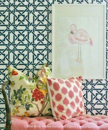Camel-Bone-Weave-Moroccan-Stencil-by-Royal-Design-Studio_102