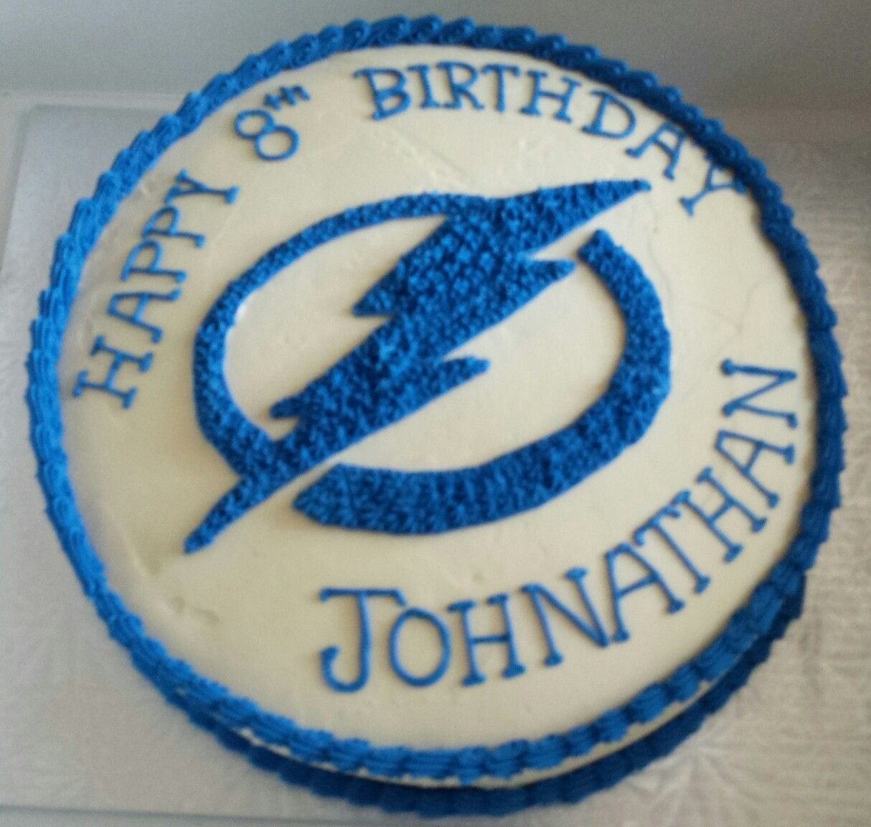 Tampa Bay Lightning cake BirthdayParty Ideas Pinterest Tampa