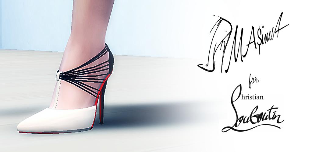 292c5264b437 MA ims 3  Christian Louboutin Stiletto Shoes  Sims4