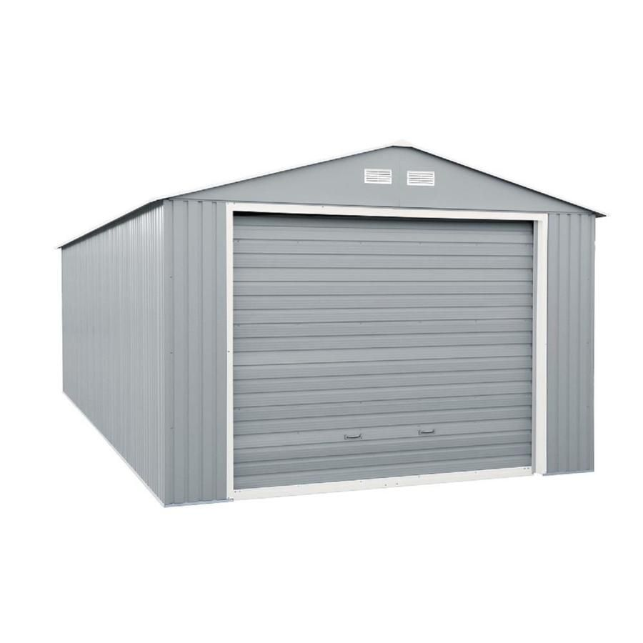 Duramax Building Products Imperial Metal Garage Galvanized Steel Storage Shed In 2020 Steel Storage Sheds Garage Door Styles Garage Door Design