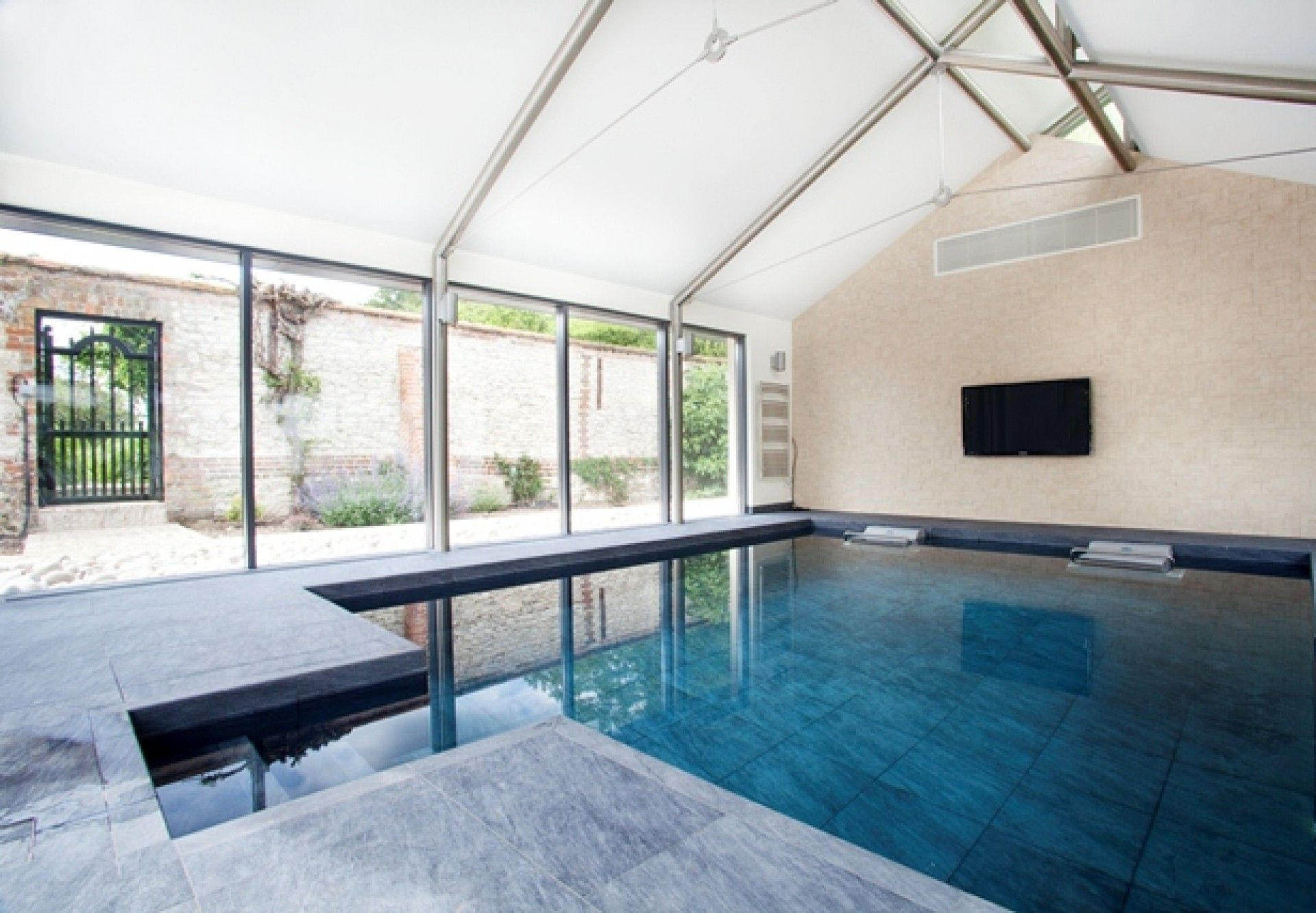 Indoor training pool with counter current units | Pools | Pinterest ...