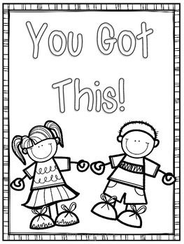 Encouraging Coloring Pages Preschool Coloring Pages Coloring Pages Testing Encouragement