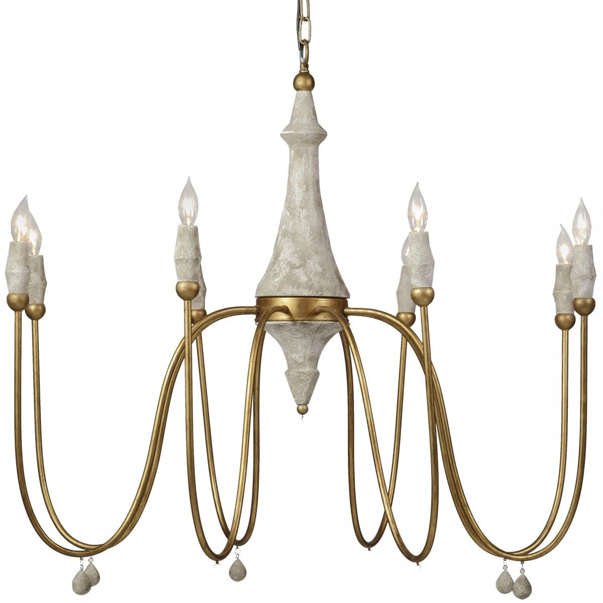 Gabby Clay Chandelier | Single Tier | Chandeliers | Lighting ...