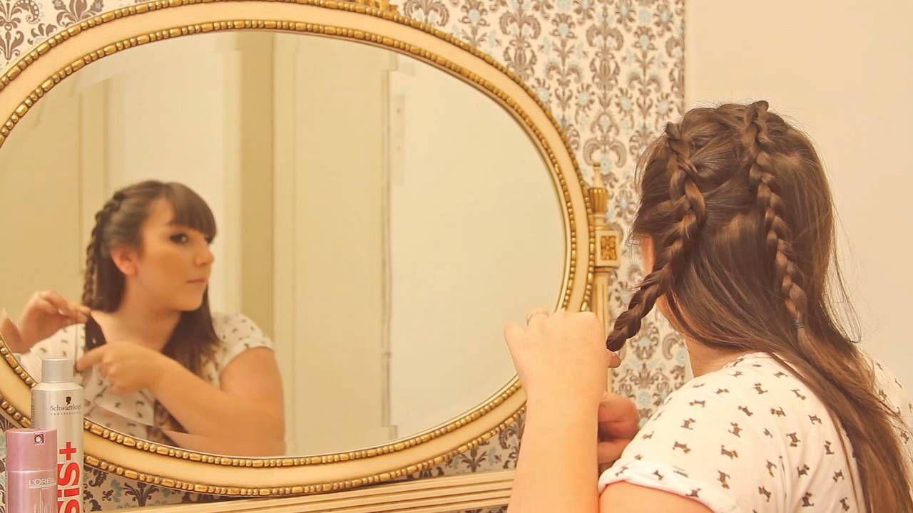 Penteados possíveis - Ju Romano ensina a fazer as tranças do desfile da ...