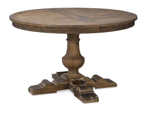 French Modern White Wood Pedestal Round Dining Table Kruglye Obedennye Stoly Uzhin Za Kruglym Stolom