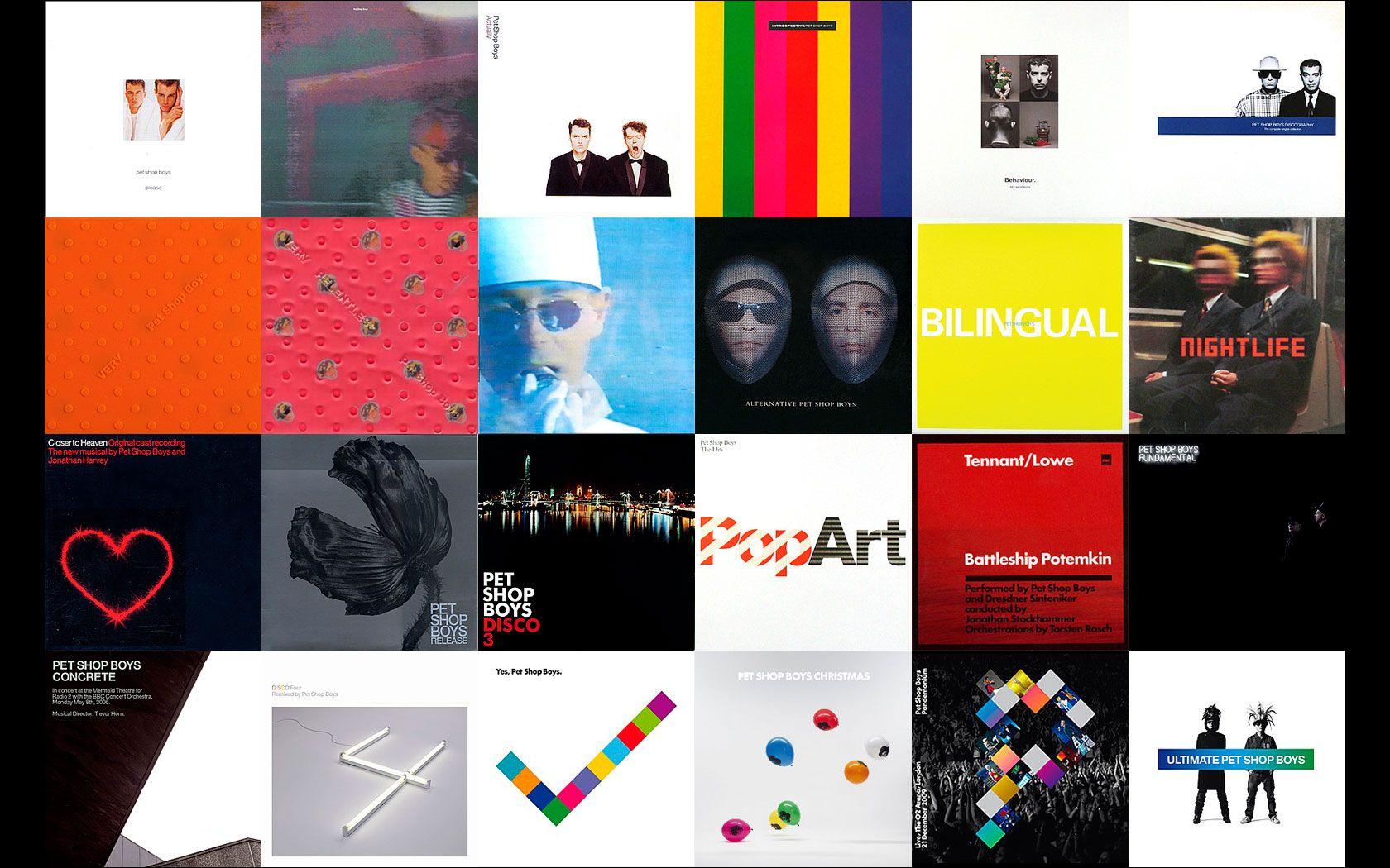 Pet Shop Boys Albums From 1986 To 2010 Pet Shop Boys Album