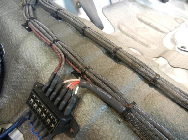 nice car install! | speaker wire, wire, speaker  pinterest