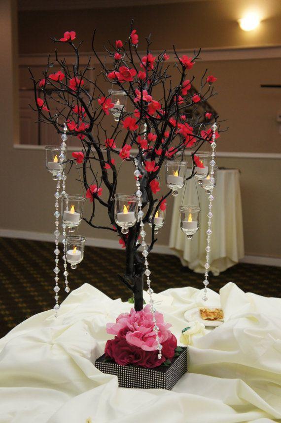 manzanita tree centerpiece. via Etsy. | ♥Wedding Ideas ...