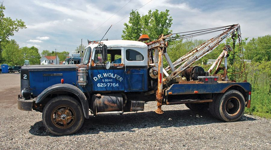 Old Autocar Earns Its Keep 10 4 Magazine Tow Trucks