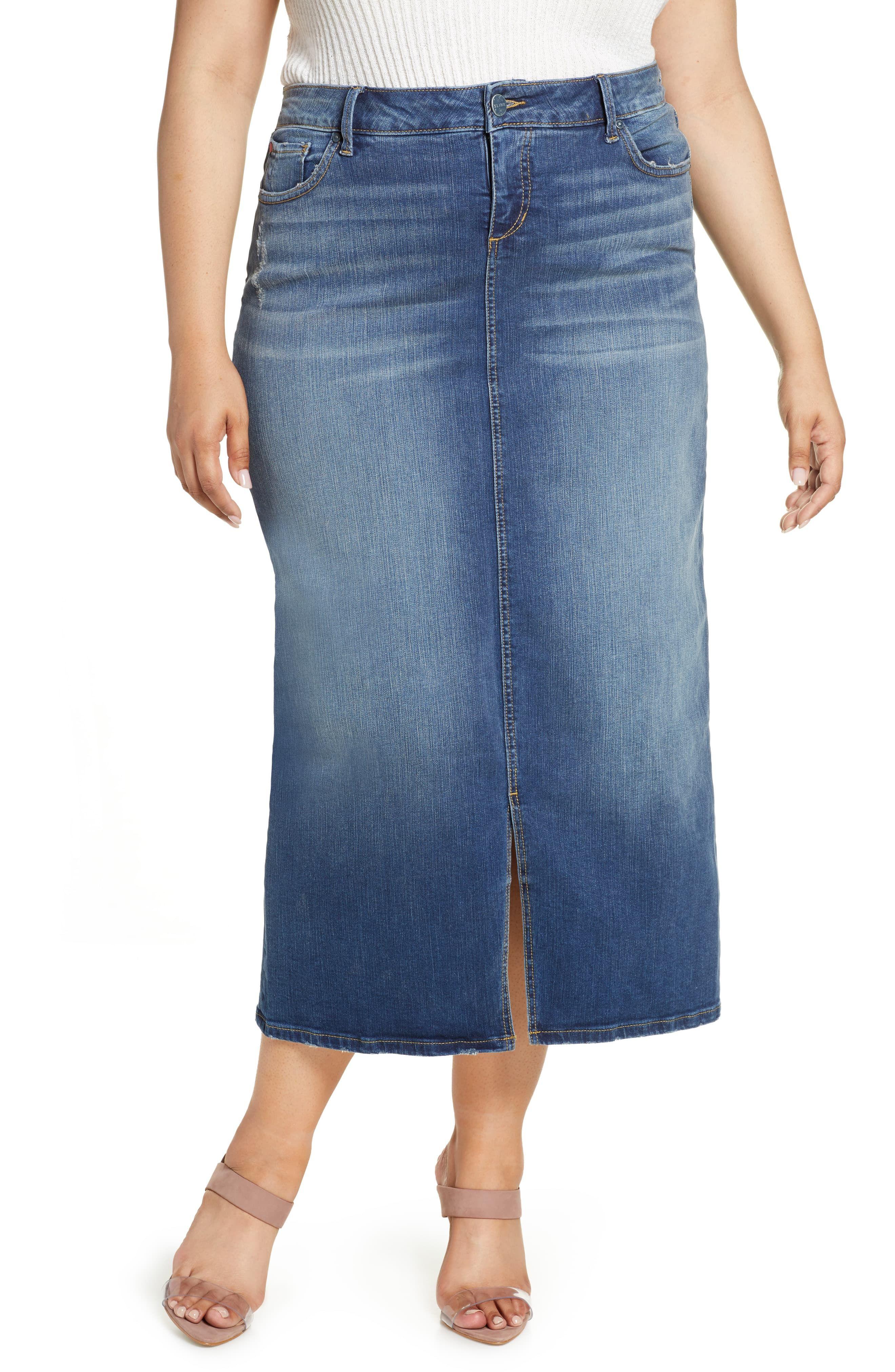 Evans Plus Size Long Knee length Denim Shorts Black Navy Blue Indigo Washed