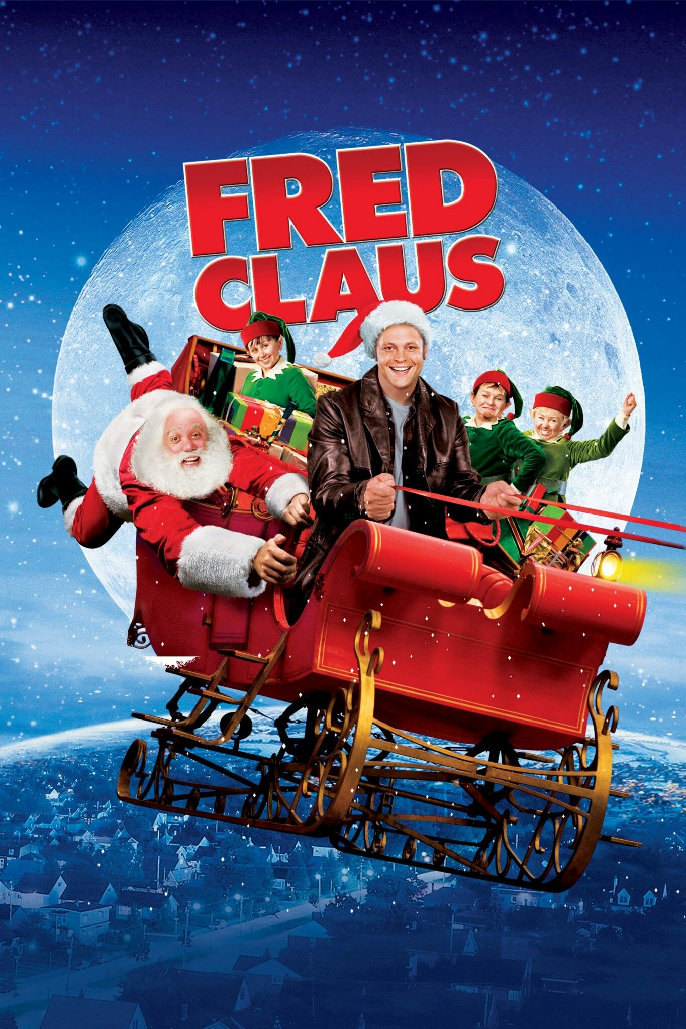 Fred Claus movie poster Christmas Movie Posters & Artwork