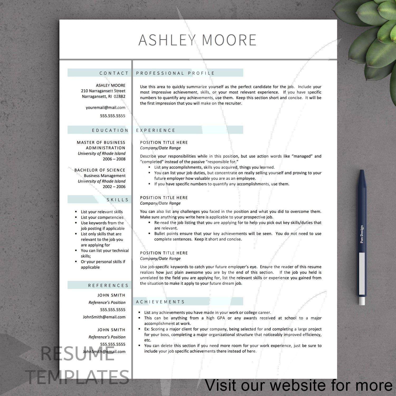 15 Professional Graphic Design Resume Cv Template In 2020 Resume Template Free Resume Template Professional Modern Resume Template
