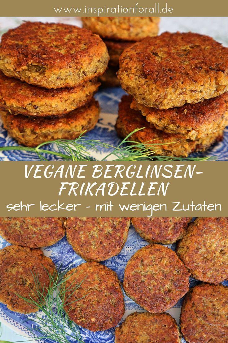 Berglinsen Bratklops – einfaches & leckeres Rezept für vegane Küchlein