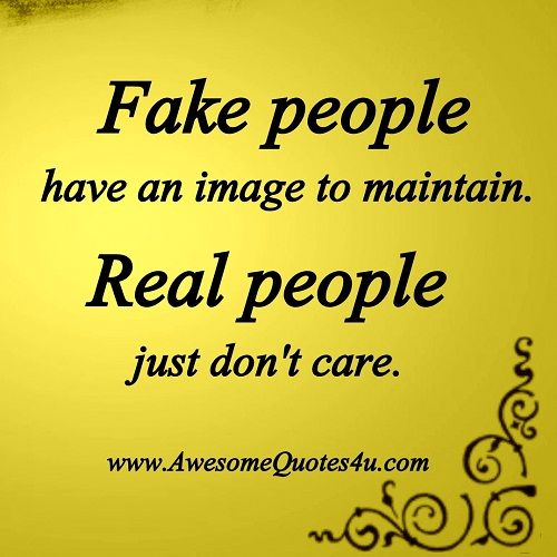 Photo Quote About Fake People Facebook Quotes Fake People And