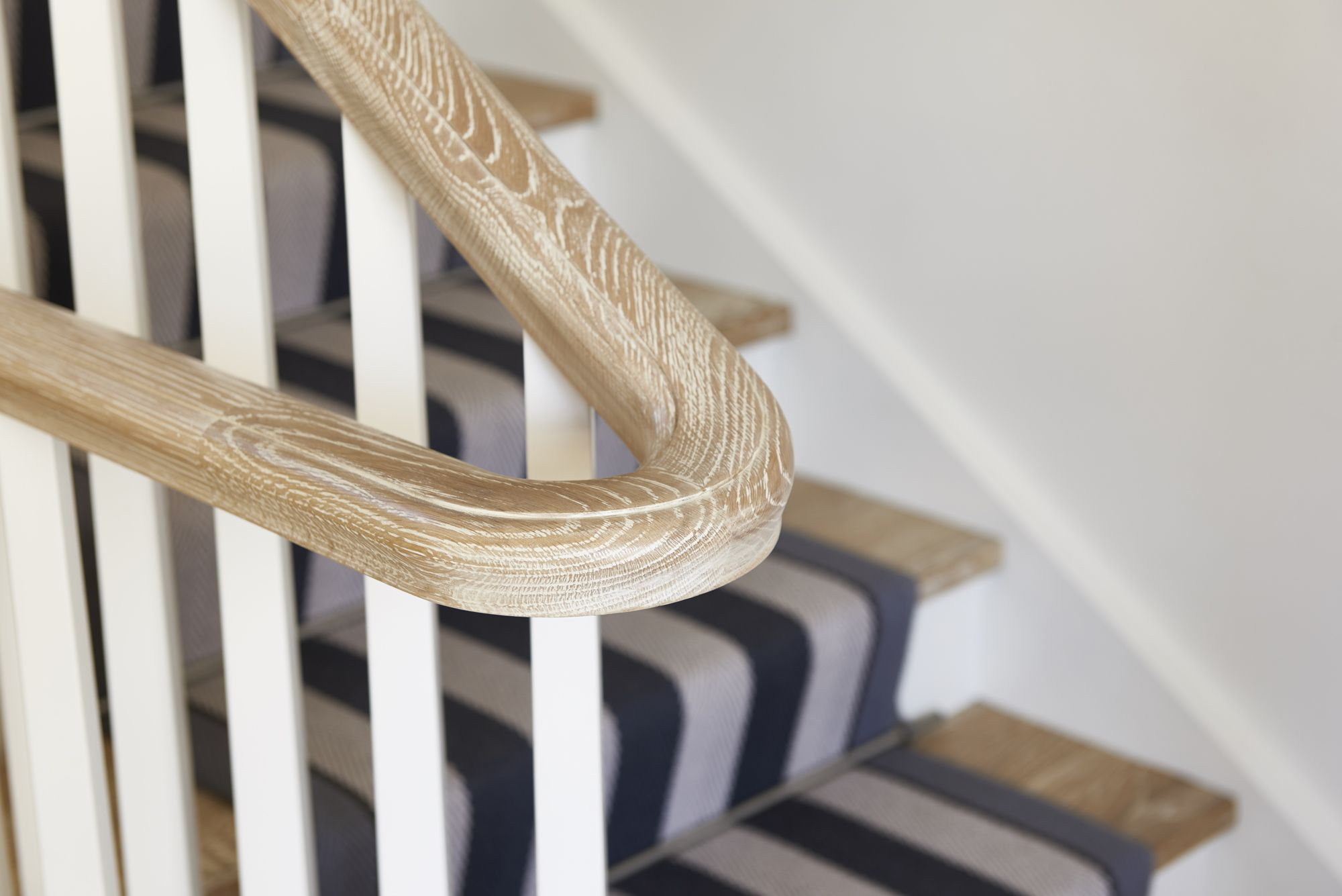 Stairs - Traditional Staircase - American Oak - Painted Timber