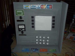leve in de kleuterklas: de Bankautomaat